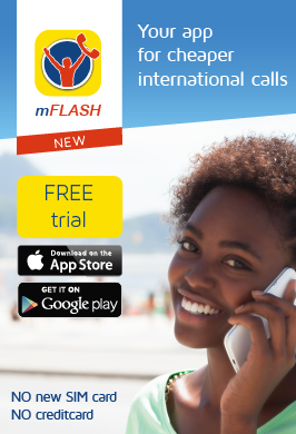 Flash Make international calls from Switzerland or Luxembourg. Phone